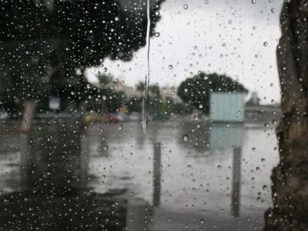 גשום גם היום (צילום: חדשות 2)