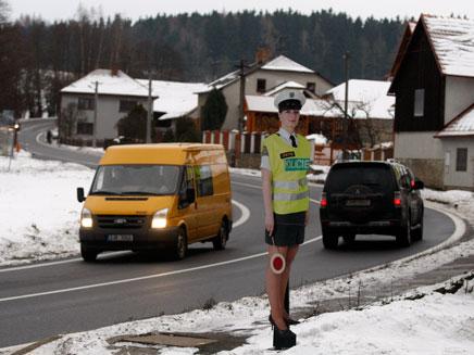 הבובה הסקסית שמסעירה את צ'כיה (צילום: AP)
