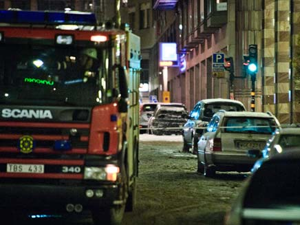 פיצוץ בשבדיה. ארכיון (צילום: רויטרס)