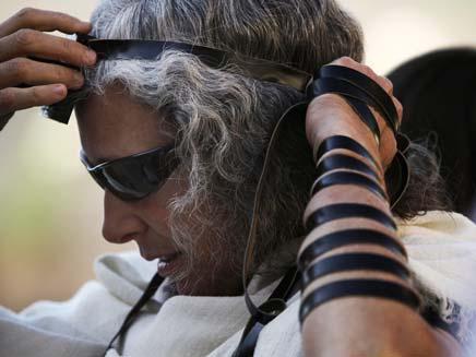 תקרית מביכה בניו זילנד בגלל תפילין (צילום: AP)