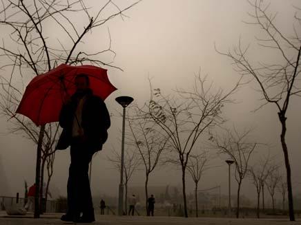 החורף כאן - לפחות עד יום שלישי (צילום: AP)