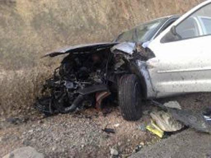 תאונה קטלנית בדרום. ארכיון (צילום: חדשות 2)