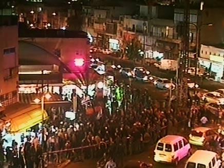 הפגנות בתקוה (צילום: חדשות 2)