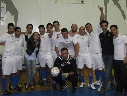 הקבוצה המנצחת, מכללת קרית אונו (צילום: מערכת ONE)