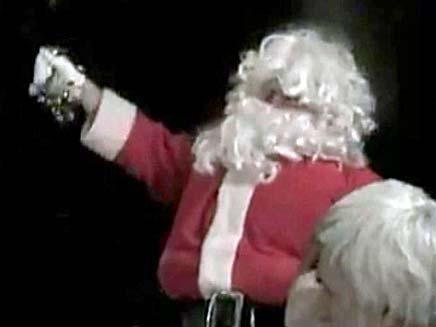 """צפו ב""""התרסקות"""" של סנטה (צילום: חדשות 2)"""