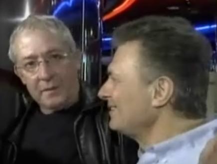 גידי גוב, פוגי, מאיר פניגשטיין (וידאו WMV: חדשות 2)
