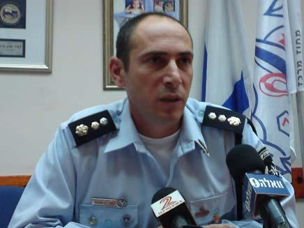 נצמ יגאל בן שלום, מפקד ימר מרכז (צילום: חדשות 2)