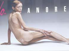 איזבל קארו, דוגמנית שמתה מאנורקסיה (צילום: AP)