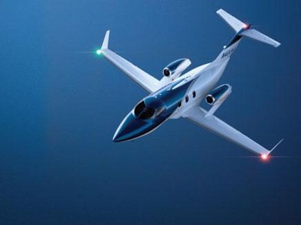 מטוס של הונדה (צילום: חדשות 2)
