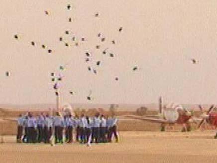 טקס סיום קורס טיס 161 (צילום: חדשות2)