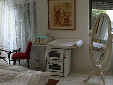 חדר שינה אחרי שיפוץ6 - מיכל שירון דרימר (צילום: מיכל שירון דרימר)