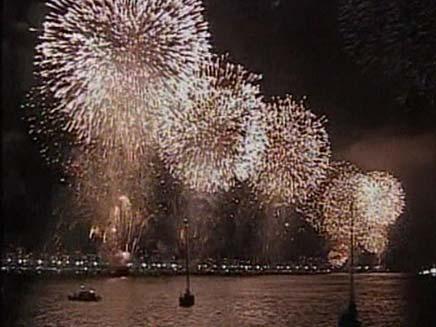 חגיגות הסילבסטר (צילום: חדשות 2)