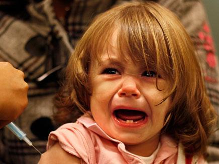ילדה חולה (צילום: רויטרס)