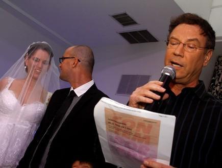 גדי סוקניק מתחתן (צילום: נעם וינד)