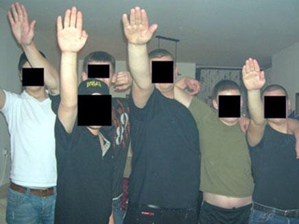 """הצעירים שנעצרו בפרשת """"צלבי הקרס"""", ארכיון (צילום: ימ""""ר מרכז)"""