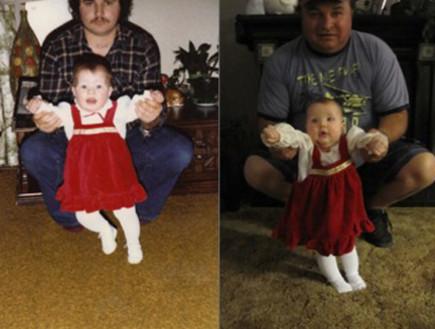 בשמלה אדומה - כמו אבא ואמא (צילום: zefrank)