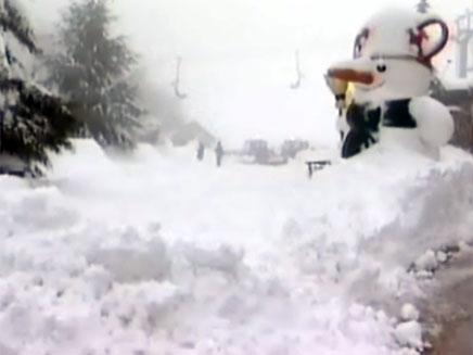 בובת שלג (צילום: חדשות 2)