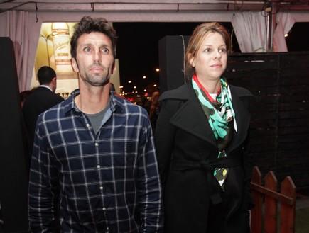 הדג נחש בהופעה אריק בנאדו ואילנה ברקוביץ (צילום: שי פרג)