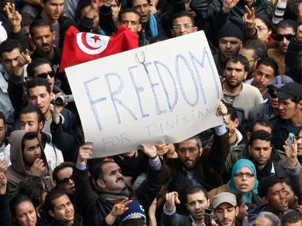 הפיכה בטוניסיה (צילום: AP)