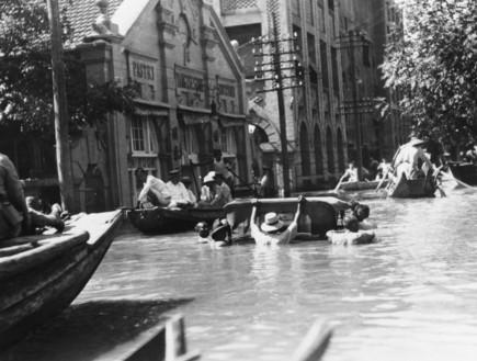 שיטפונות בסין, 1931 (צילום: Topical Press Agency, GettyImages IL)