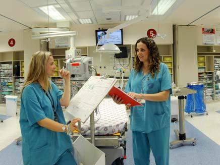 """בית חולים רמב""""ם, שביתת אחיות (צילום: חדשות 2)"""