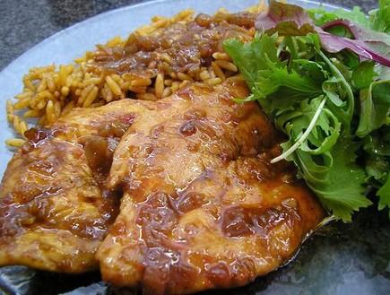 חזה עוף בסויה וצ'ילי (צילום: baronm10, אוכל מכל הלב)