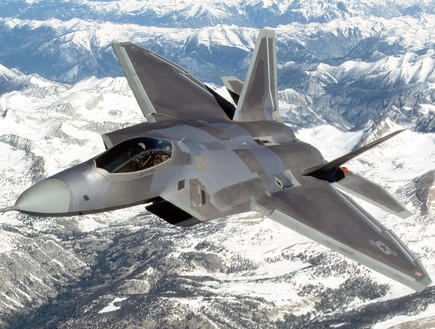 F-22 (צילום: Getty Images, GettyImages IL)
