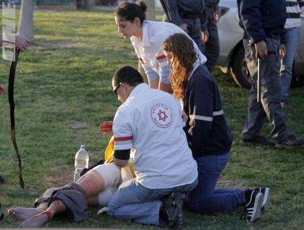 """הפצוע בקטטה בב""""ש. מעצרך החשוד הוארך (יוסי ציפקיס) (צילום: מערכת ONE)"""