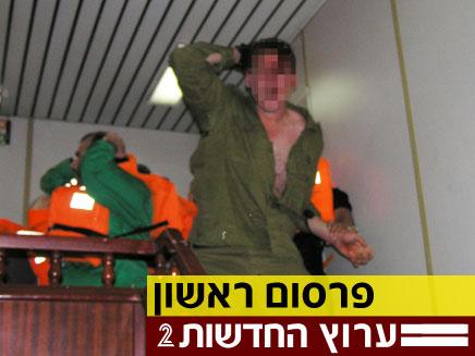 חייל פצוע מהמרמרה (צילום: חדשות 2)