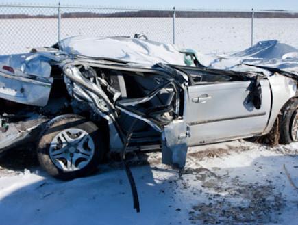 תאונה משאית סוכר