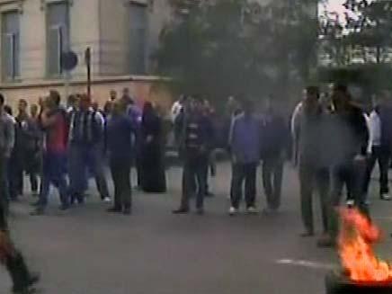 הפגנות בסואץ (צילום: חדשות 2)