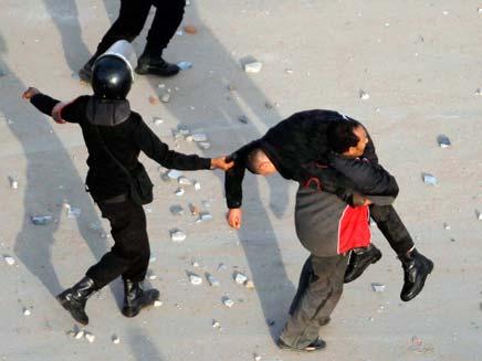הפגנות בסואץ, מצרים (צילום: חדשות 2)