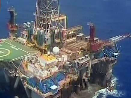 קידוחי גז (צילום: חדשות 2)