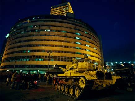 מהפכה במצרים (צילום: רויטרס)