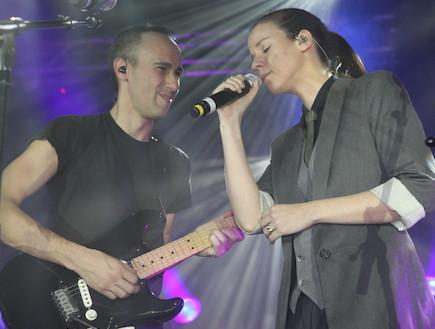 אסף אמדורסקי, רונה קינן, הופעה (צילום: עודד קרני)
