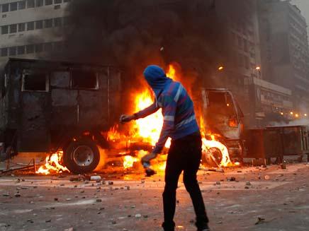 הפגנות במצרים (צילום: רויטרס)