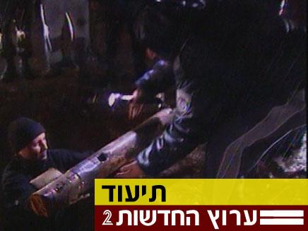 תיעוד ההרס שנגרם מהגראד בנתיבות (צילום: חדשות 2)