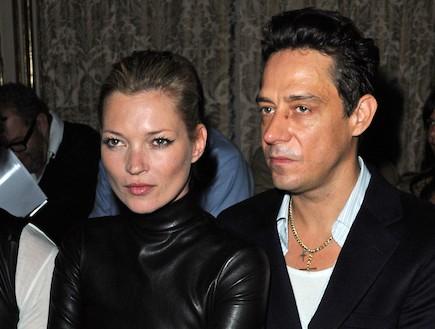 קייט מוס וג'יימי הינצ' (צילום: Pascal Le Segretain, GettyImages IL)