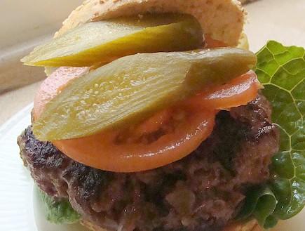 המבורגר, טעימא (צילום: תומר פרת)