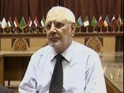 כתבה בלעדית במשרדי האחים המוסלמים במצרים (צילום: חדשות 2)