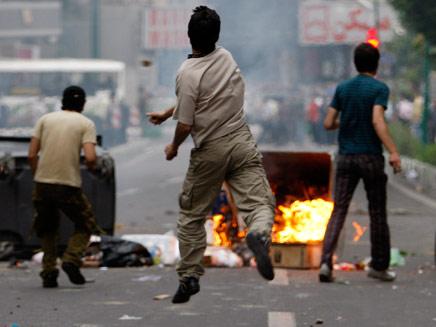 הפגנה יום זעם באירן (צילום: חדשות 2)