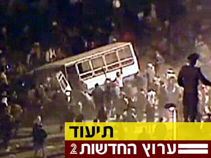 מול המצלמה: אלימות ועימותים במצרים (צילום: חדשות 2)