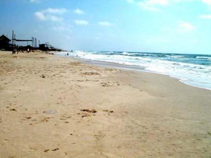 חוף ניצנים (צילום: חדשות 2)