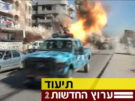 צפו בתיעוד הפיצוץ בכרכוכ (צילום: חדשות 2)