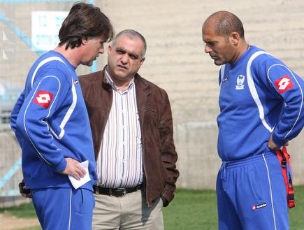 דראפיץ' ואבו-סלאח. המאמן יישאר (עמית מצפה) (צילום: מערכת ONE)