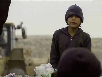 המזבלה בכפר יאטה (צילום: חדשות 2)