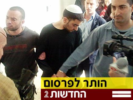 חשוד באונס בת 12 בארומה ירושלים, ניסים פינס-זדה (צילום: יוסי זילברמן, חדשות 2)