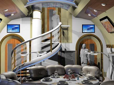 חדר הישיבות והמזנון (צילום: news)