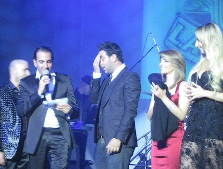 לה לה לנד הופעה 2 (צילום: DJ Eliran Refael, Hollywood.)