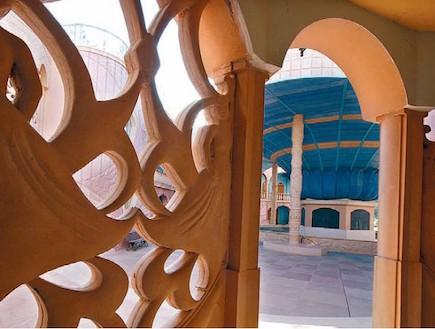 נאות סמדר בית מרכז האמנויות פנים (צילום: יותם יעקובסון, גלובס)